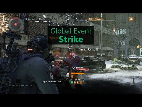 The Division - My Primer for Global Event Strike