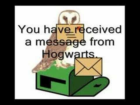 Happy Birthday Via Owl Post Harry Potter Video Greeting Card