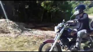 trilha de custom: mirage 250