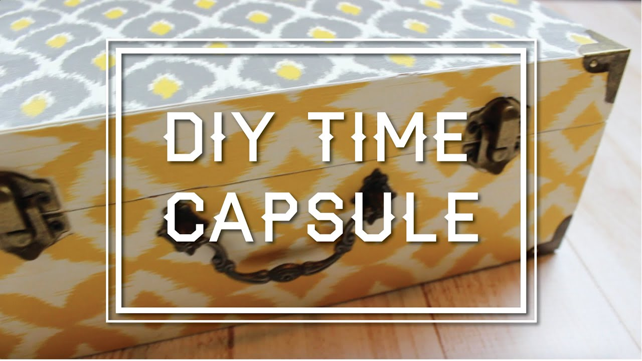 diy time capsule parejeda youtube. Black Bedroom Furniture Sets. Home Design Ideas