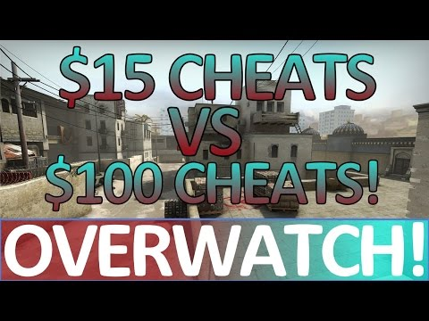 Basic Cheats VS Premium CS:GO OVERWATCH!