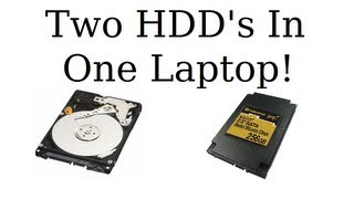 How To Install A Second Hard Drive To Your Laptop!