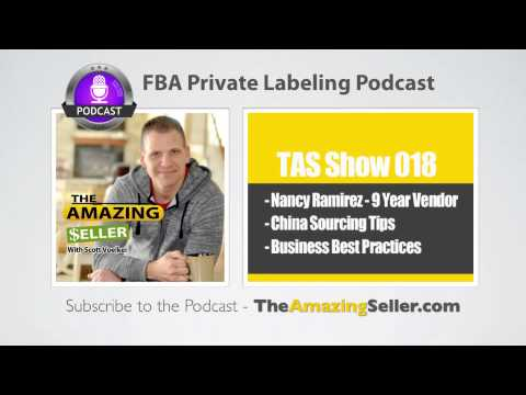 Tips For Sourcing Private Label Products In China With Nancy Ramirez (9 Year Vendor)-TAS Show Ep. 18