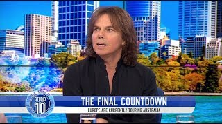 Joey Tempest Remembers 'The Final Countdown' & Talks Europe's Reunion | Studio 10