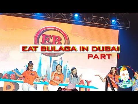 Eat Bulaga Live In DUBAI OPENING NUMBER PART 1