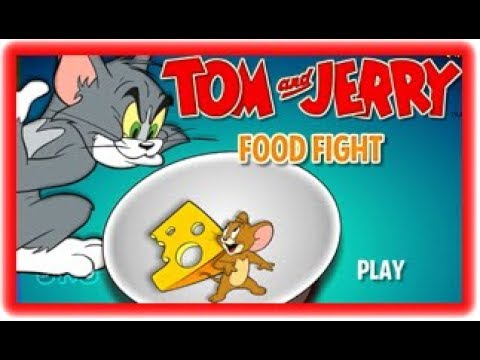 FOOD FIGHT - TOM And  JERRY - TOM And  JERRY GAMES - Cartoon Network Games