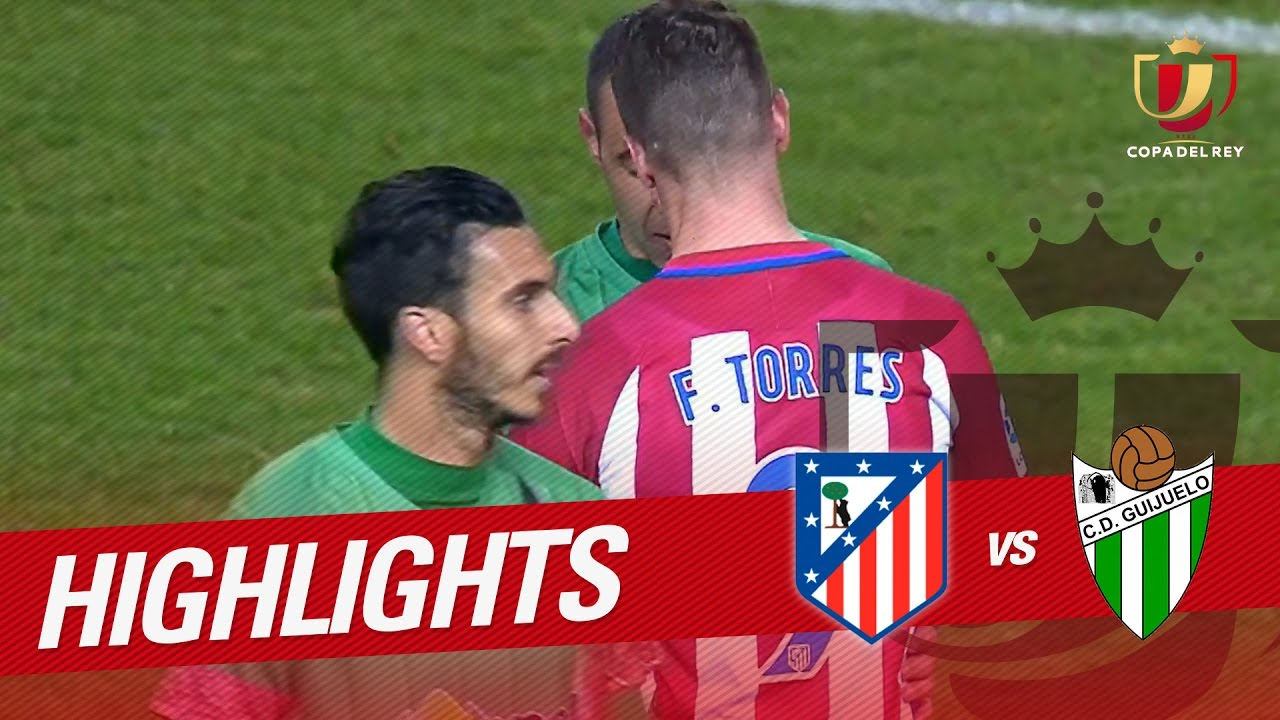 Resumen De Atlético De Madrid Vs Cd Guijuelo 4 1 Youtube