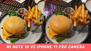 Xiaomi Mi Note 10 Pro vs iPhone 11 Pro Camera Comparison