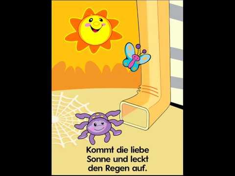 Die klitzekleine Spinne Kinderlied App