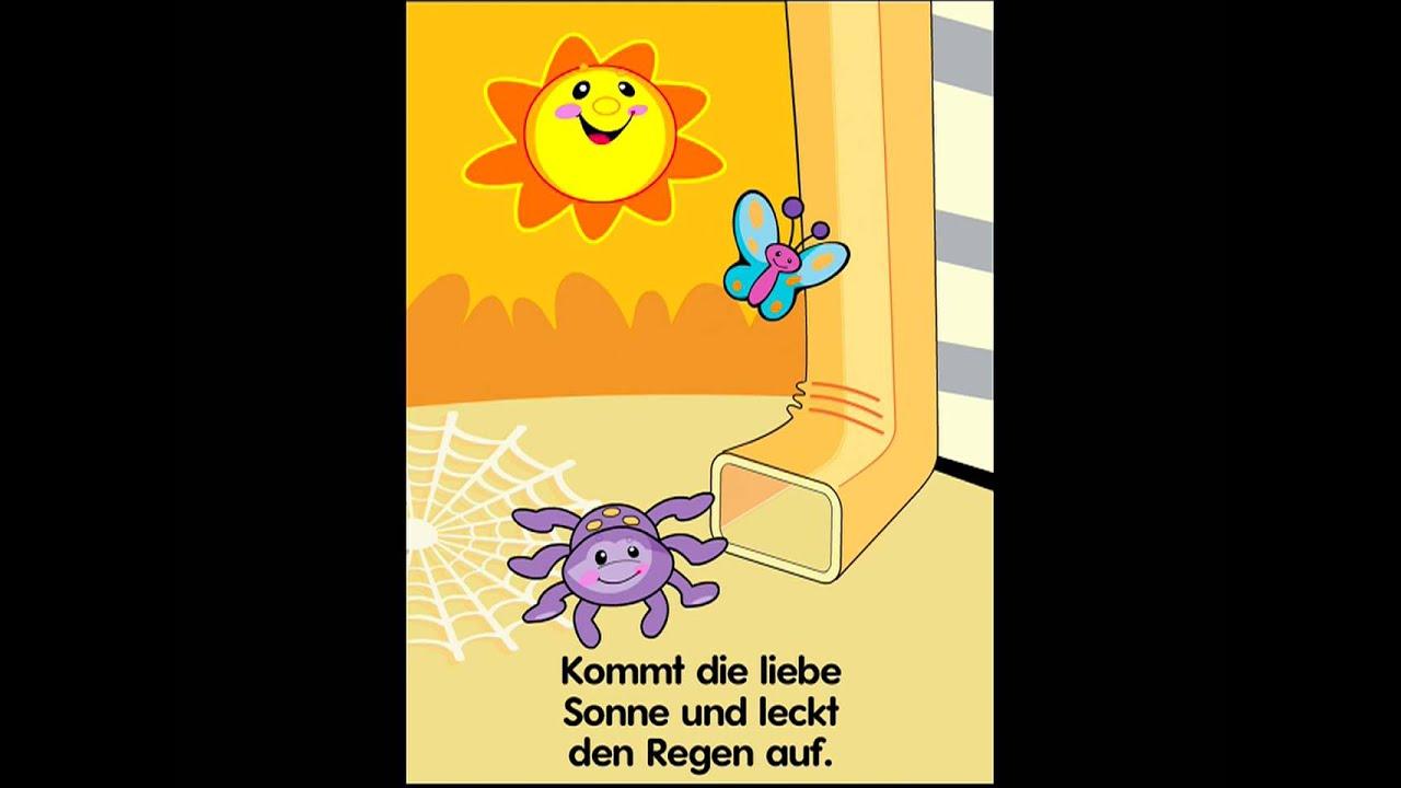 Die Klitzekleine Spinne Text
