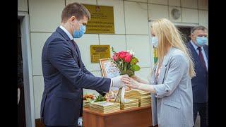Глава округа Геннадий Панин поздравил работников социальной защиты с профессиональным праздником