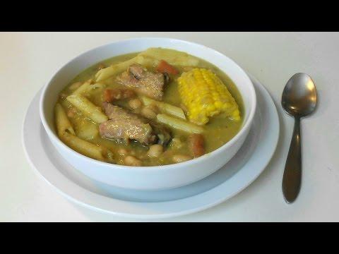 Sopa de Frejoles (Menestron de Frejoles)