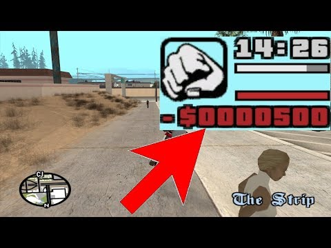 What happens if CJ goes $500 into debt? GTA San Andreas