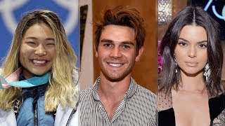 Olympic Snowboarder Chloe Kim GUSHES Over Riverdale Crush & Fangirls Over KUWTK