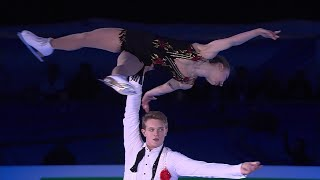 А. Бойкова - Д. Козловский. Показательные выступления. Чемпионат Европы по фигурному катанию