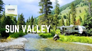 Ep. 19: Sun Valley, Idaho | RV Idaho Sawtooth Mountains Free Camping Boondocking | Grand Adventure