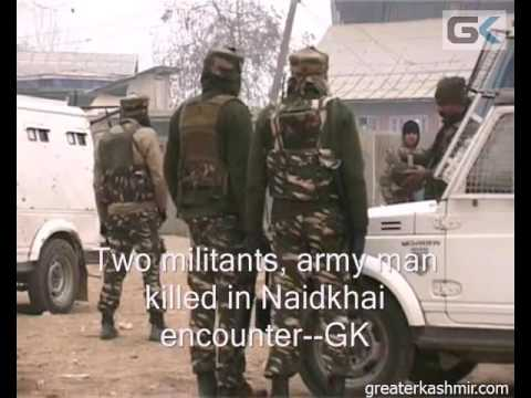 Two militants, army man killed in Naidkhai encounter