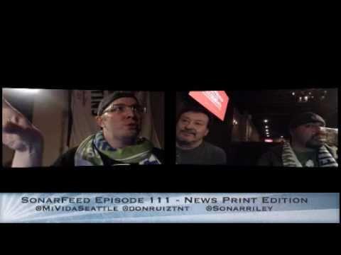 SonarFeed Episode 111 - News Print Edition