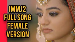 Ishq Mein Marjawan 2 Full Title Song   Female Version   Riansh Song   Colors   CODE NAME BADSHAH