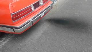 1987 Buick Electra Park Avenue - Black smoke, rough Idle and backfire