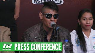Navarrete vs Horta: Pre Fight Press Conference