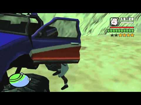 GTA San Andreas take FI Monster to LVPD impound
