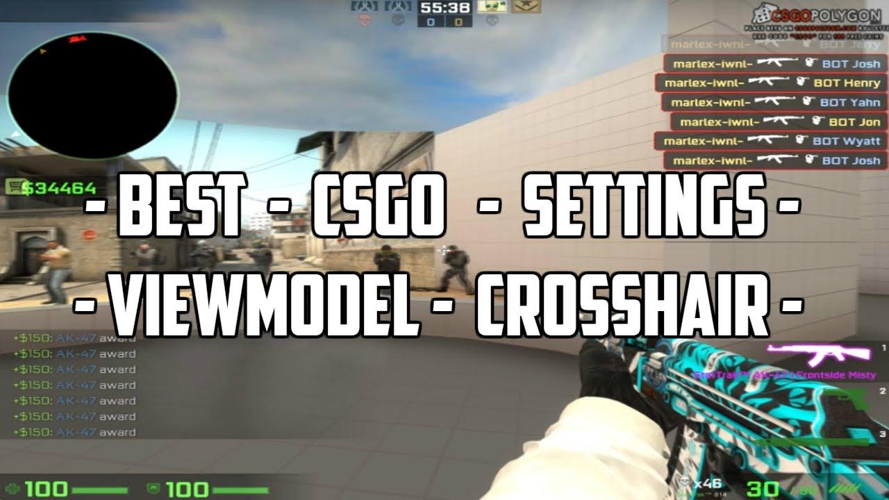 CS:GO - Tutoriál - Resolution - Viewmodel - Crosshair |CZ/SK| 720p