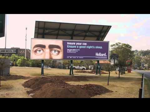 Hollard - Sleeping Billboards - 2015