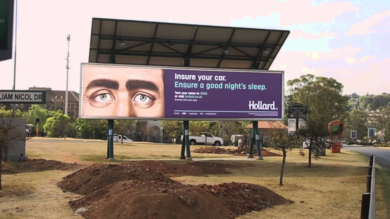 Hollard - Sleeping Billboards - 2015 - YouTube