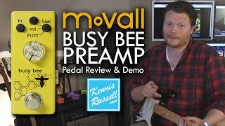 MoVall Busy Bee Preamp Pedal (Review & Demo)
