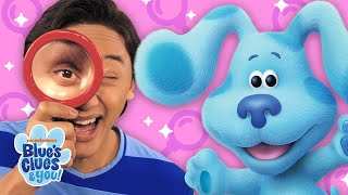 Finding Clues 🔎 w/ Josh & Blue! | Games for Kids | Blue's Clues & You!