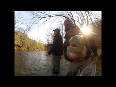 HIGH WATER NIMPIN Southern App Style- Jeff Wilkins Fly Fishing 2015