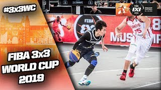 Turkey v South Korea | Men's Full Game | FIBA 3x3 World Cup 2019