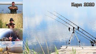 Рыбалка с ночёвкой Открыли сезон карповой ловли Карп на флэт метод Ловля карпа на горох и бойлы