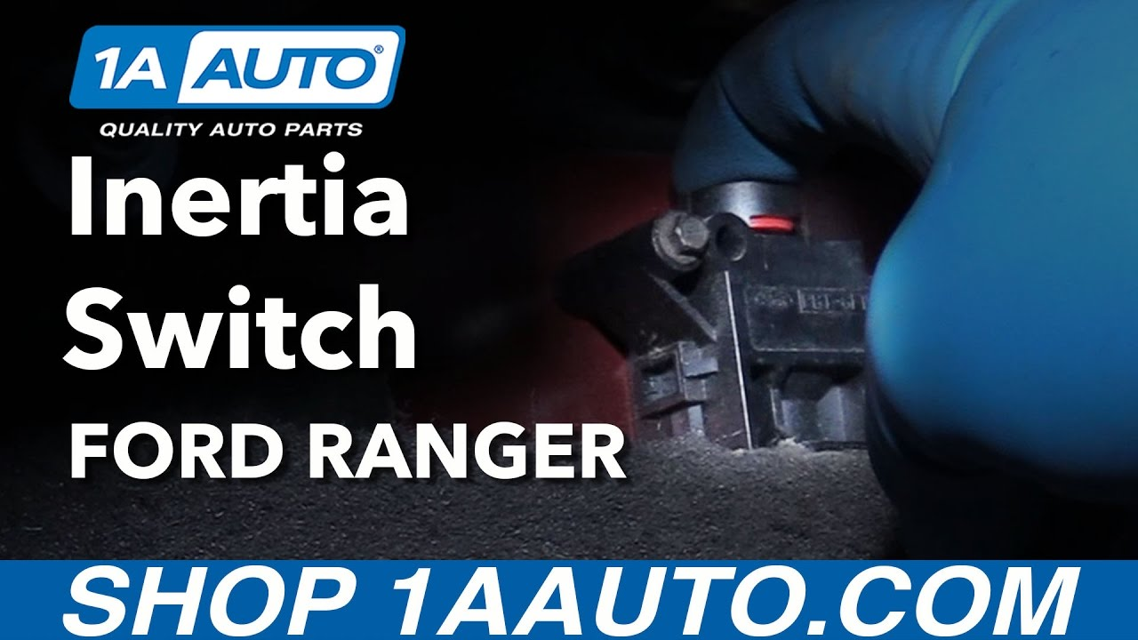 Inertia Switch Explained Removed And Replaced 2001 Ford Ranger 1986 Bronco Fuel Pump Relay Lincoln Mercury Vehicles