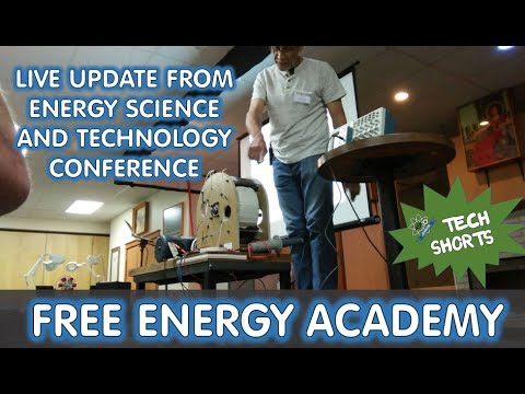 Updates on the QEG Live from the Energy Science and Technology conference