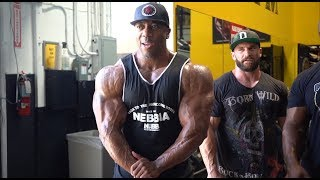 Road to the O 2018 - Shawn Rhoden & Stanimal Train Delts 5 w Out