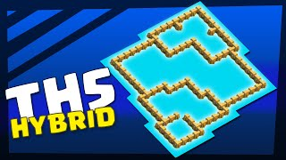 Clash of Clans | Town Hall 5 Hybrid Base, ANTI Giant, Barch | TH5 TH 5