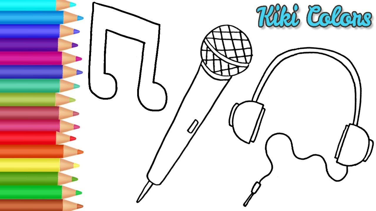 music drawings drawing draw coloring toddlers inspired teach