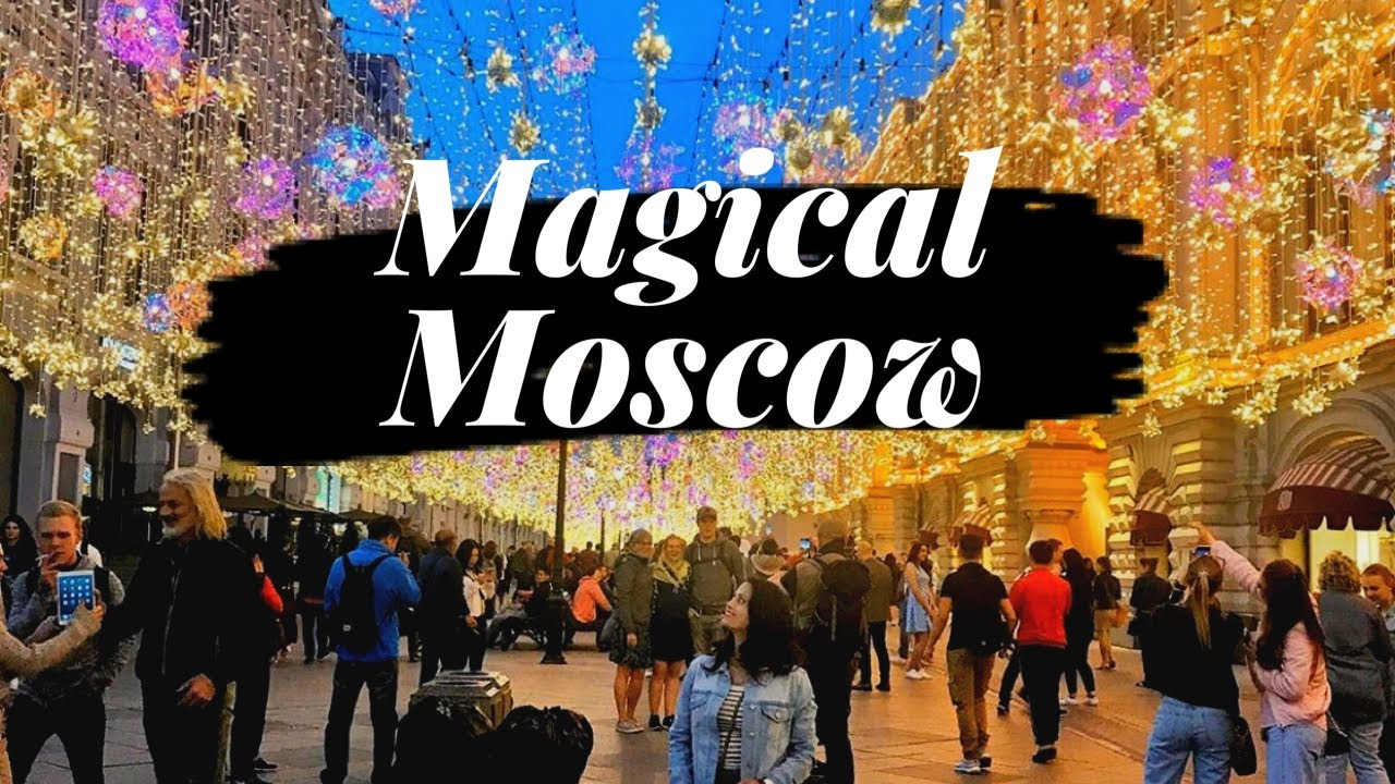 MAGICAL MOSCOW   Best Places to Visit in Moscow RUSSIA    Moscow City 