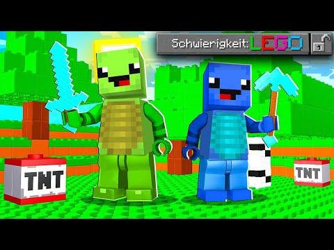 DENDY vs. LEGO SCHWIERIGKEIT in Minecraft