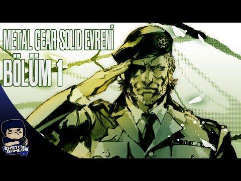 METAL GEAR SOLID EVRENİ / HİKAYESİ - BÖLÜM 1 : Metal Gear Solid 3 Snake Eater