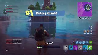 A Noob gets victory royale accidentally with no kills in Fortnite