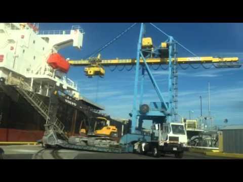 Cement Slag Ship Port of Philadelphia