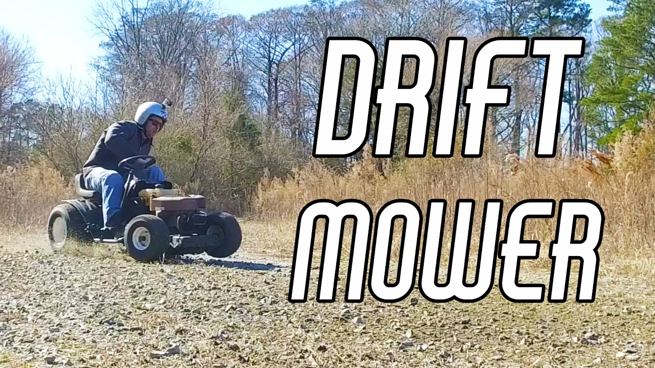 Welding the Diff and Drifting the Rat Rod Race Mower