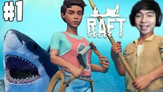 Terdampar Di Tengah Laut | Raft Game Indonesia | Part 1