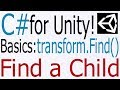 Unity C# Tutorial - Basics: transform.Fi