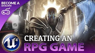 Creating A Role Playing Game - Unreal Engine 4 Course