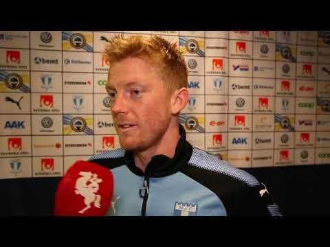 Intervju med Anders Christiansen efter MFF–Elfsborg
