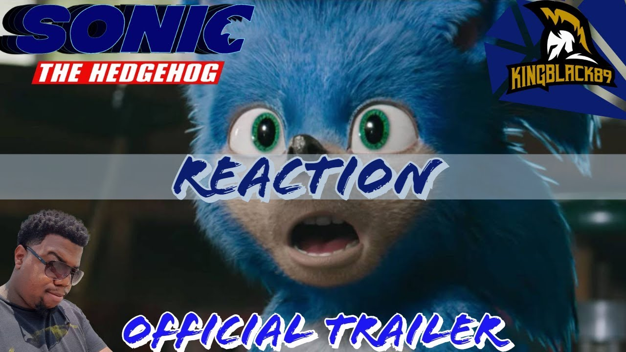 First poster of the Sonic The Hedgehog Movie caused a